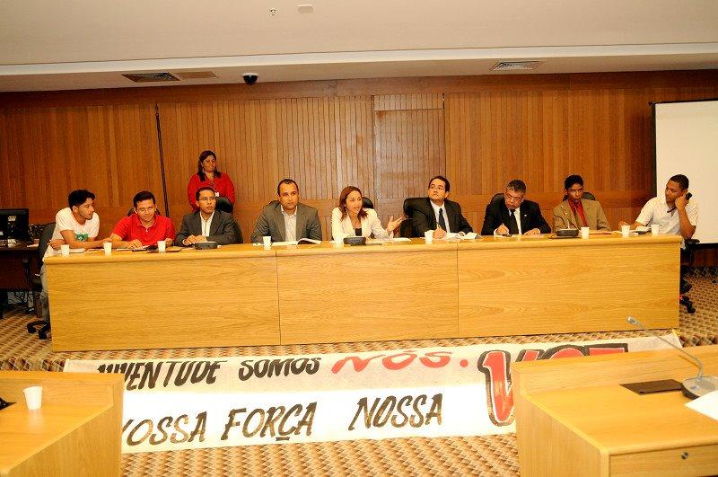 SAMUEL BASTOS E JOSÉ LEANE PARTICIPAM DE AUDIÊNCIA PÚBLICA NA ASSEMBLÉIA LEGISLATIVA