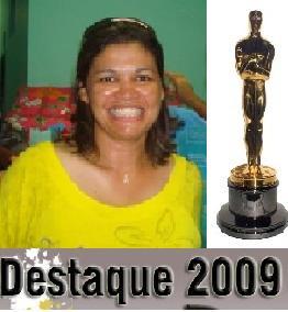 ROSÂNGELA CURADO É ELEITA A MELHOR SECRETÁRIA DE 2009