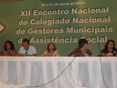 MINISTRO ABRE ENCONTRO DE GESTORES DO CONGEMAS