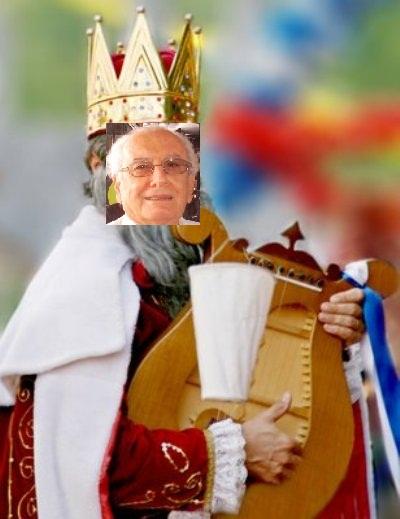 CHARGE ELETRÔNICA: REI DO MANDATO