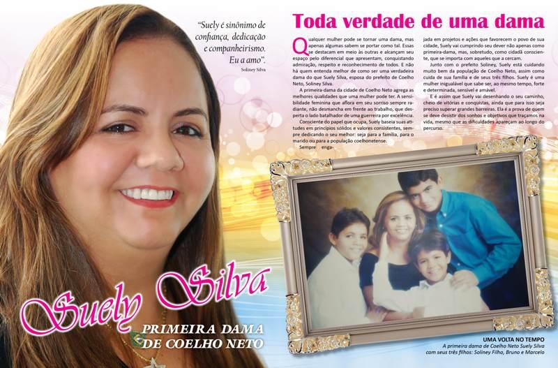 SUELY SILVA: TODA VERDADE DE UMA DAMA