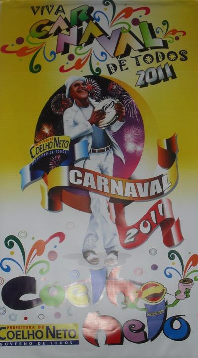 LANÇADA LOGOMARCA OFICIAL DO CARNAVAL DE 2011
