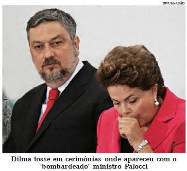 SAÚDE DA PRESIDENTE DILMA ROUSSEFF AINDA EXIGE ATENÇÃO