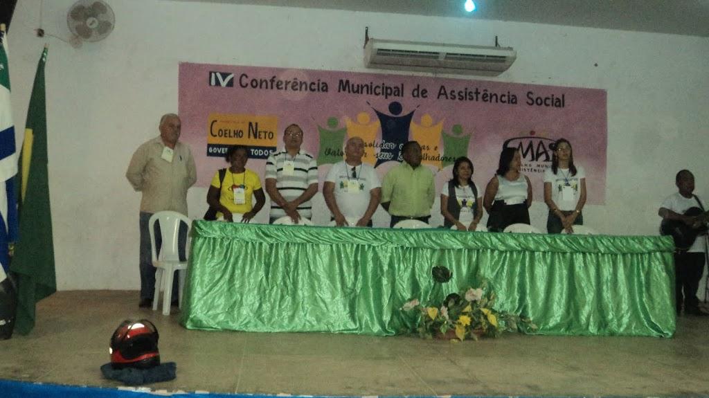 COELHO NETO REALIZA CONFERÊNCIA DE ASSISTÊNCIA SOCIAL