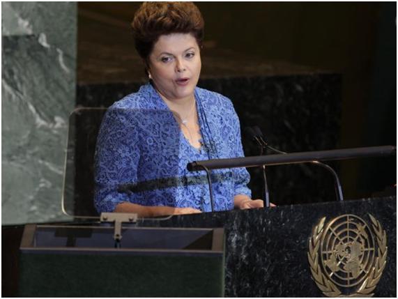 DIA HISTÓRICO: DILMA ROUSSEFF É A PRIMEIRA MULHER A ABRIR O DEBATE GERAL DA ONU