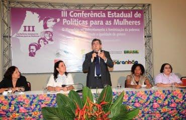 ABERTA III CONFERÊNCIA ESTADUAL DE POLÍTICAS PARA AS MULHERES