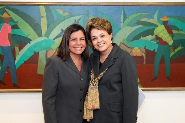 ROSEANA OUVE DE DILMA ROUSSEFF ELOGIOS AO CONTROLE DE CONTAS DO MA