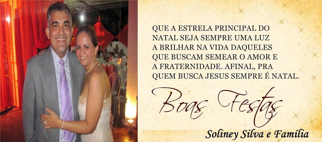 RECADO DE NATAL: POR SOLINEY SILVA