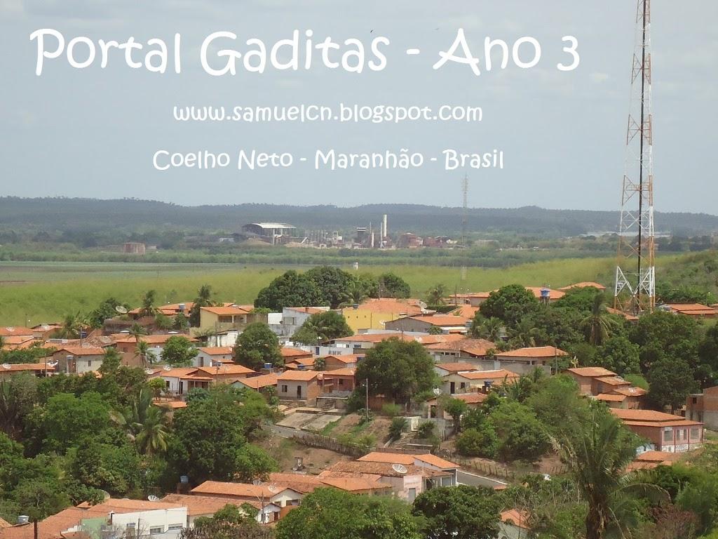 PARABÉNS PORTAL GADITAS – 3 ANOS