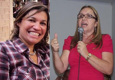 """DE NOCAUTE: ROSÂNGELA CURADO """"DESCATITA"""" MÁRCIA BACELAR"""