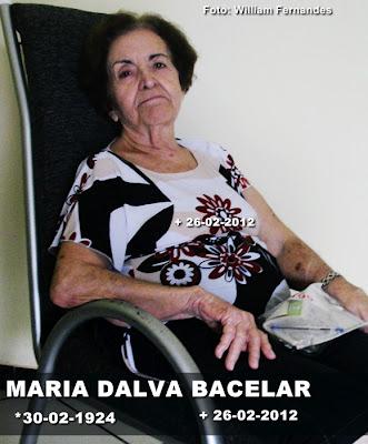 FALECIMENTO DA EX-DEPUTADA DALVA BACELAR REPERCUTE NA ASSEMBLÉIA