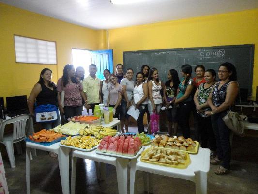 ESCOLA LEOZINHO SABIDO REALIZA CAFÉ DA MANHÃ PARA RECEPCIONAR PROFESSORES