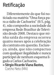 CORREIO BRAZILIENSE TORNA PÚBLICO A VERDADE SOBRE O VICE-PREFEITO SÉRGIO GUANABARA