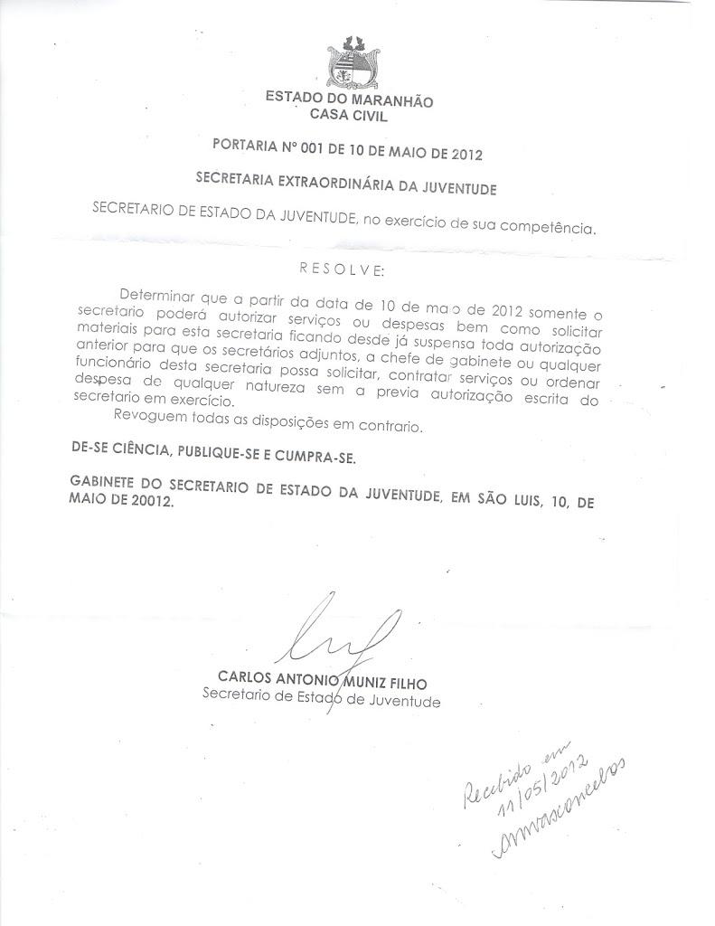 NÃO FALEI? CARLOS FILHO LIMITA PODERES DE ADJUNTOS INDICADOS POR ROBERTO COSTA