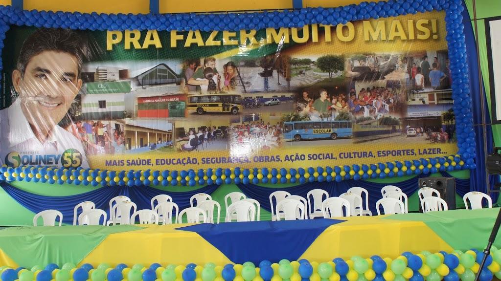 MULTIDÃO ACLAMA SOLINEY E SÉRGIO GUANABARA NA MAIOR CONVENÇÃO DA HISTÓRIA DE COELHO NETO