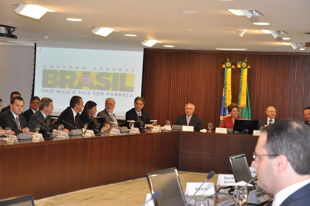 GOVERNADORA ROSEANA PARTICIPA DE REUNIÃO COM DILMA ROUSSEFF