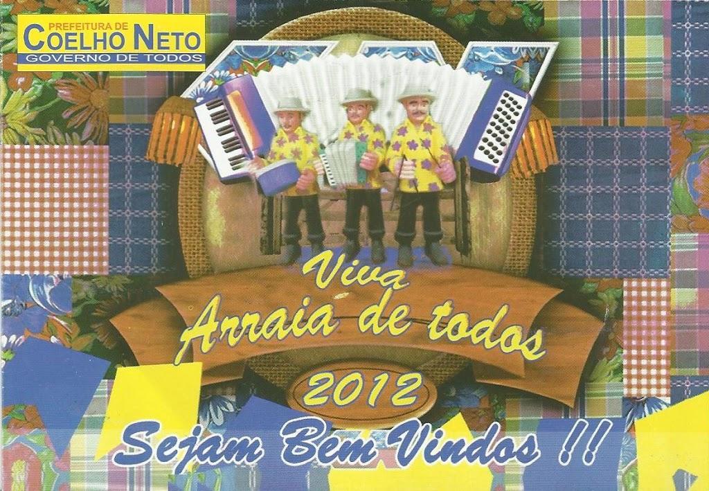 VIVA ARRAIÁ DE TODOS 2012 COMEÇA HOJE