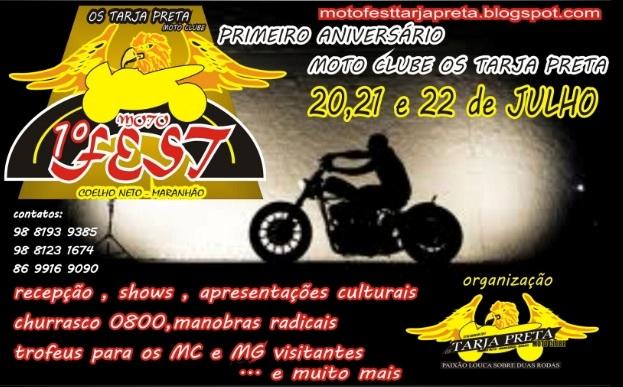 COELHO NETO SERÁ PALCO DO 1º. MOTO FEST