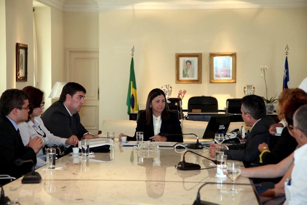 GOVERNADORA ROSEANA SARNEY RECEBE PRESIDENTE DO INSS