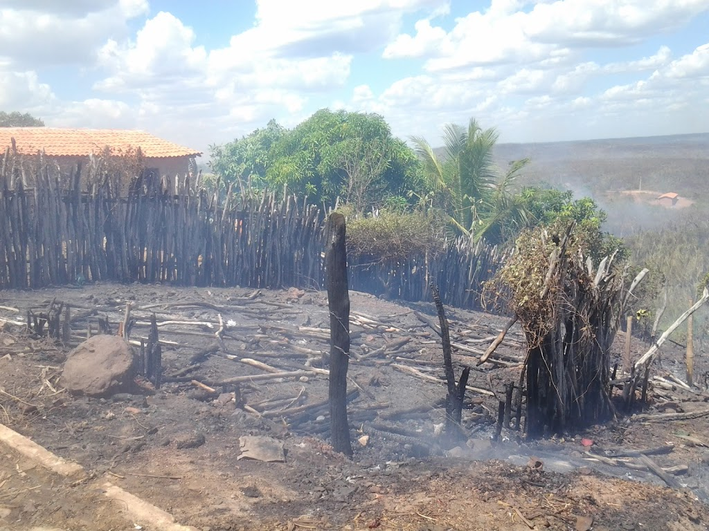 INCÊNDIO DE GRANDES PROPORÇÕES ATERRORIZA POPULAÇÃO DO PARQUE AMAZONAS