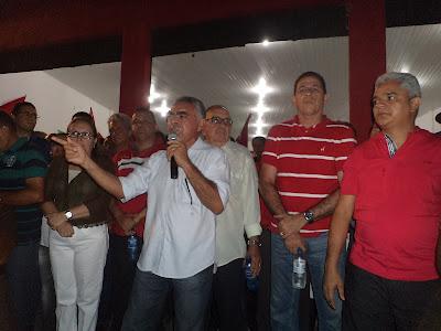 ELEIÇÕES 2012: AMÉRICO INAUGURA COMITÊ DE CAMPANHA