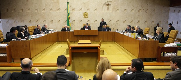 STF COMEÇA A JULGAR NESTA QUINTA OS 38 RÉUS DO MENSALÃO