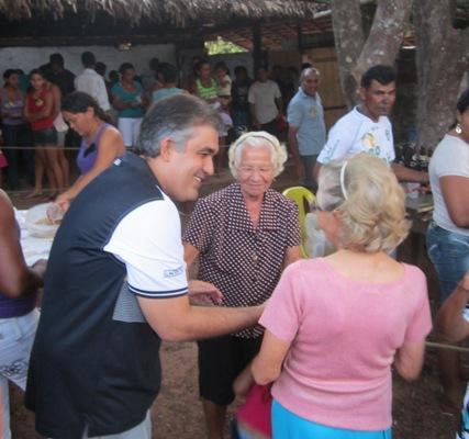ELEIÇÕES 2012: SOLINEY CUMPRE AGENDA NA ZONA RURAL