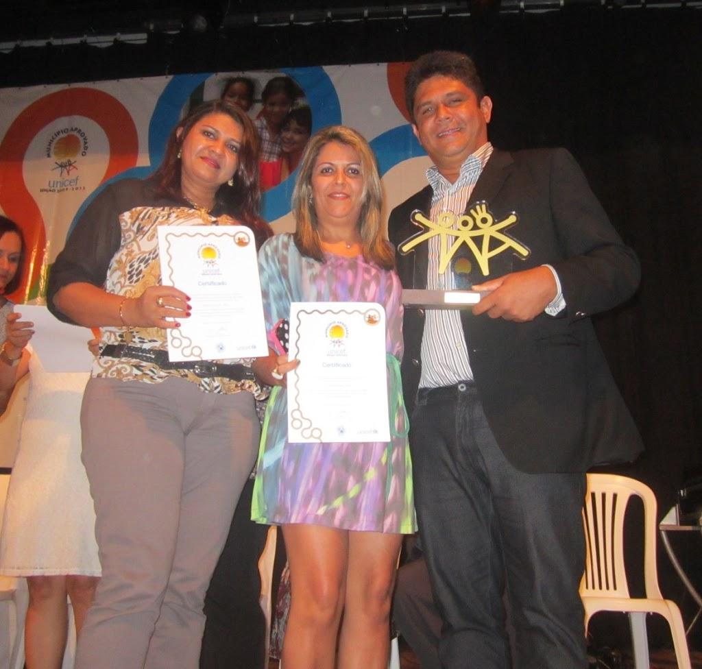 FESTA: FLÁVIO FURTADO RECEBE SELO UNICEF POR AÇÕES DESENVOLVIDAS EM PROL DA CRIANÇA E DO ADOLESCENTE
