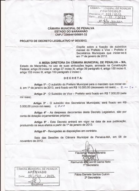 ATENÇÃO, MP! CÂMARAS APROVAM AUMENTOS DE SALÁRIO ESTRATOSFÉRICOS PARA PREFEITOS