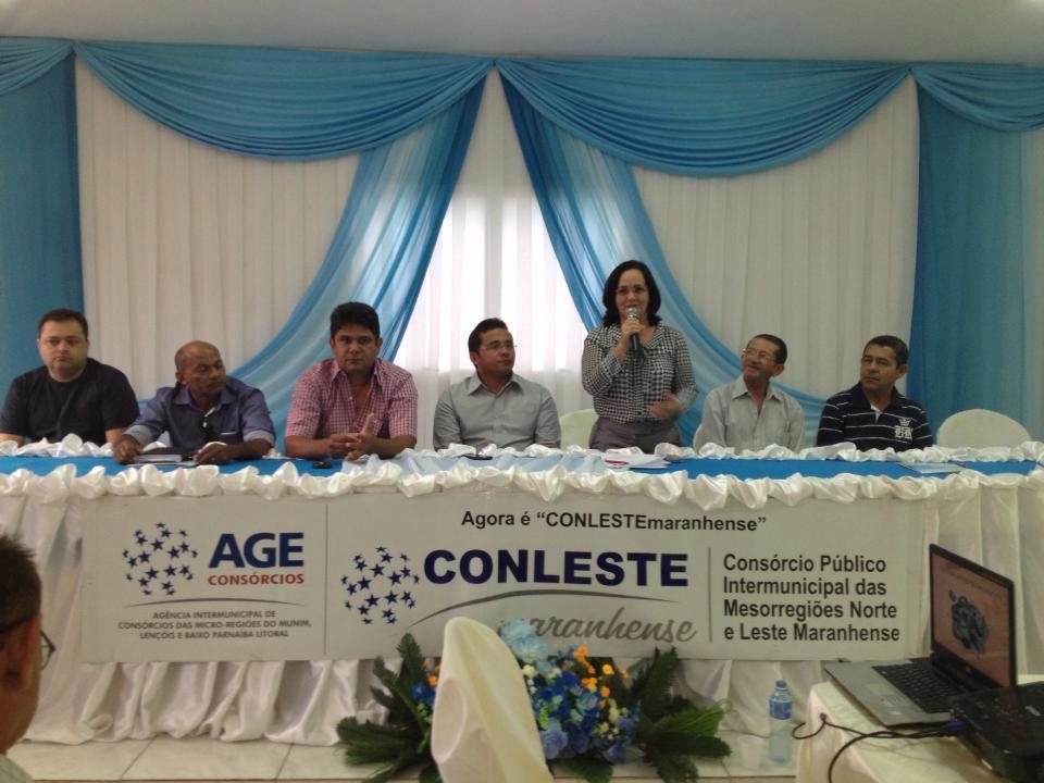 LEANE PARTICIPA DE EVENTO DO CONLESTE EM CHAPADINHA
