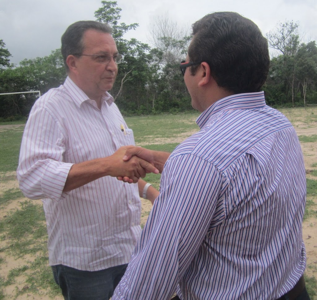 JOSÉ LEANE E LUIS FERNANDO ENTREGAM OBRAS NO ANIVERSÁRIO DE AFONSO CUNHA