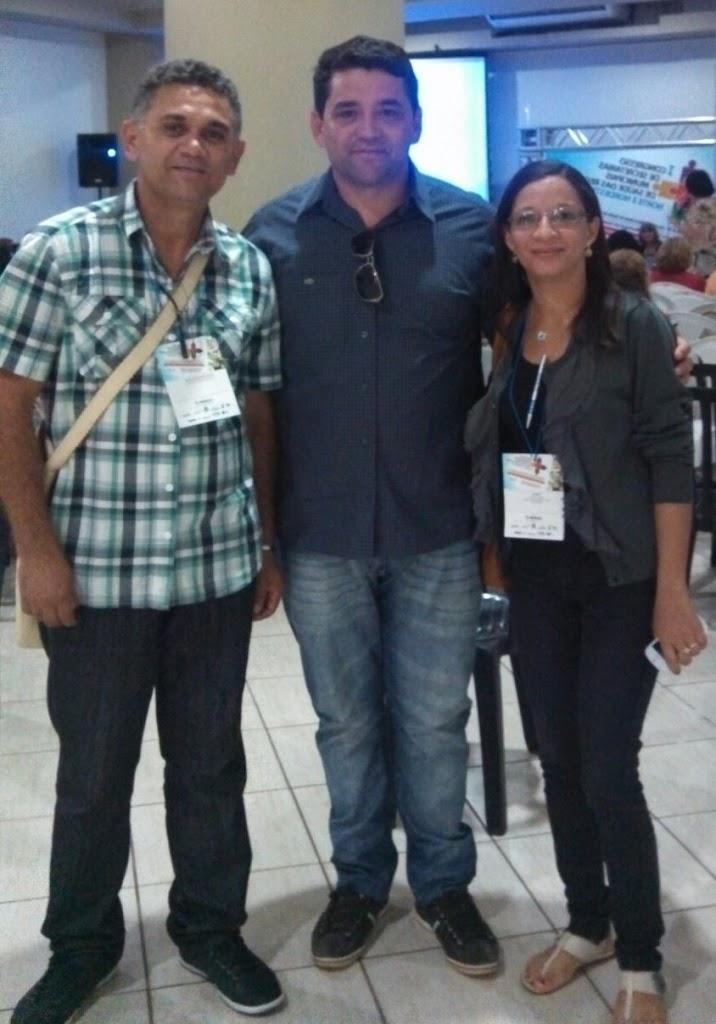 SECRETÁRIOS DE SAÚDE DE AFONSO CUNHA E COELHO NETO PARTICIPAM DE CONGRESSO EM SÃO LUÍS