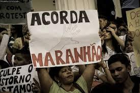 POLÍCIA DO MARANHÃO PARTE PARA O CONFRONTO COM MANIFESTANTES