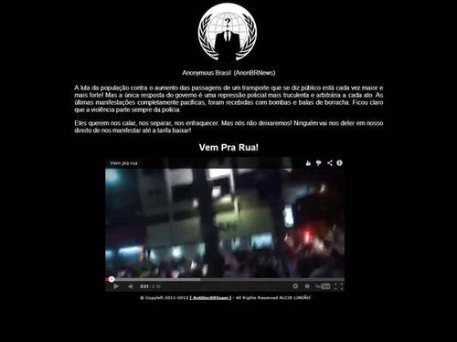 SITE OFICIAL DO PMDB É HACKEADO