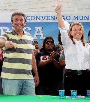 TERESA E RICARDO MURAD SÃO VAIADOS EM COROATÁ