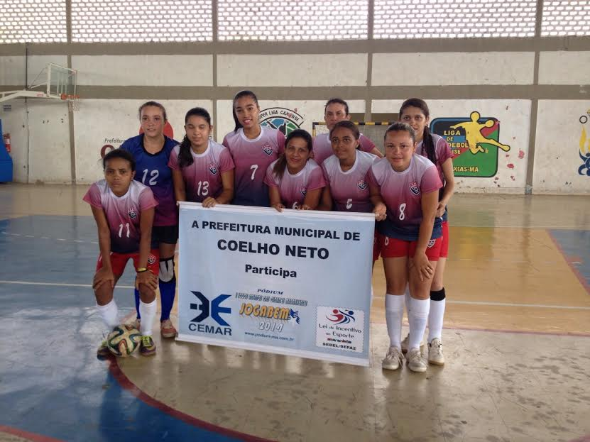 Equipe Vice-Campeã Maranhense de Futsal Feminino