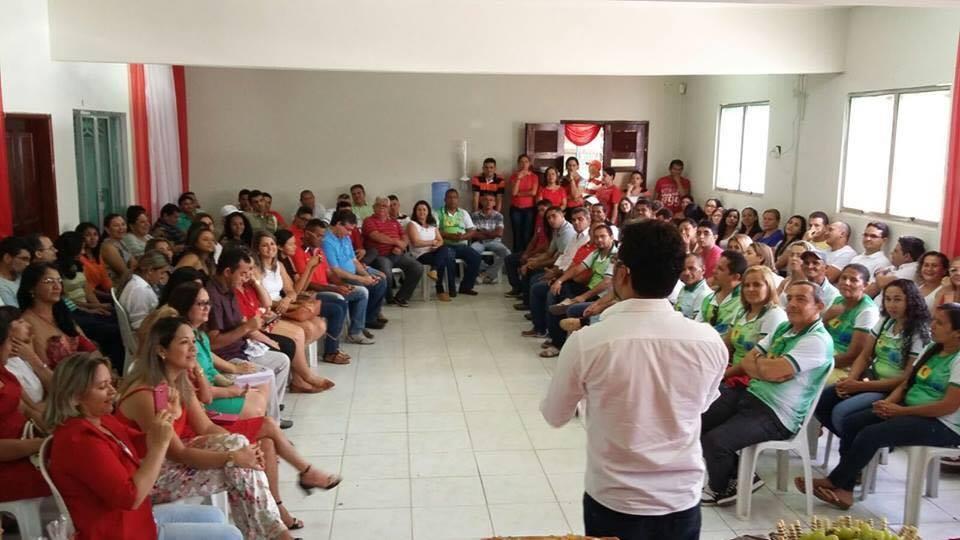 """Alberto Carlos: """"sangue novo"""" a disposição de Chapadinha"""