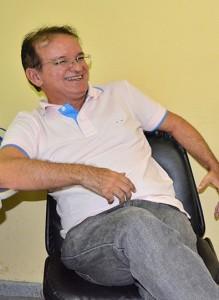 Secretário de Saúde Adão Ramos: sem diálogo