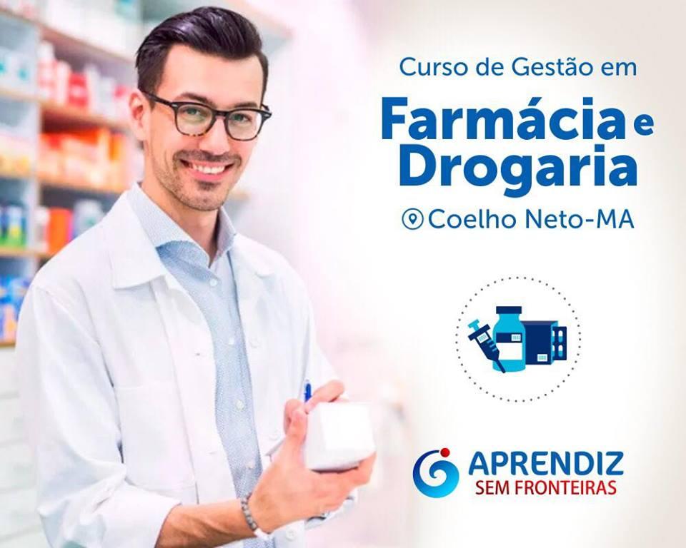 Instituto oferece curso de Gestão em Farmácia e Drogaria em Coelho Neto