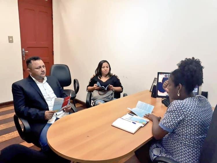 Secretária de Juventude de Chapadinha cumpre agenda em São Luís