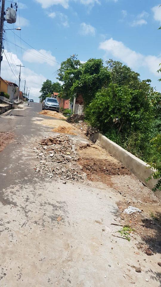 Após obra precária, Prefeitura de Coelho Neto executa o mesmo serviço pela quarta vez