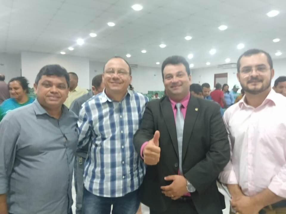 Antônio Pires participa de evento da Fetaema em São Luís