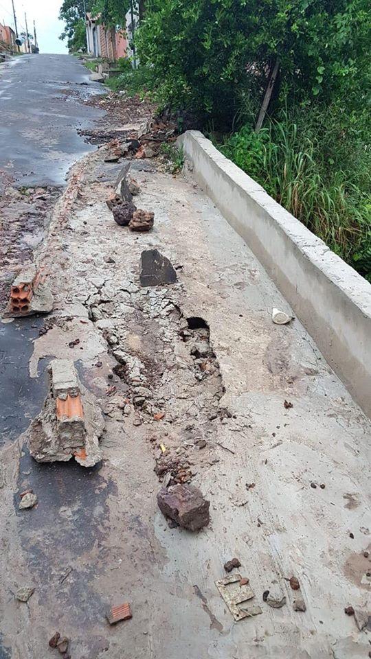 Chuva leva mais uma das intervenções da Prefeitura de Coelho Neto