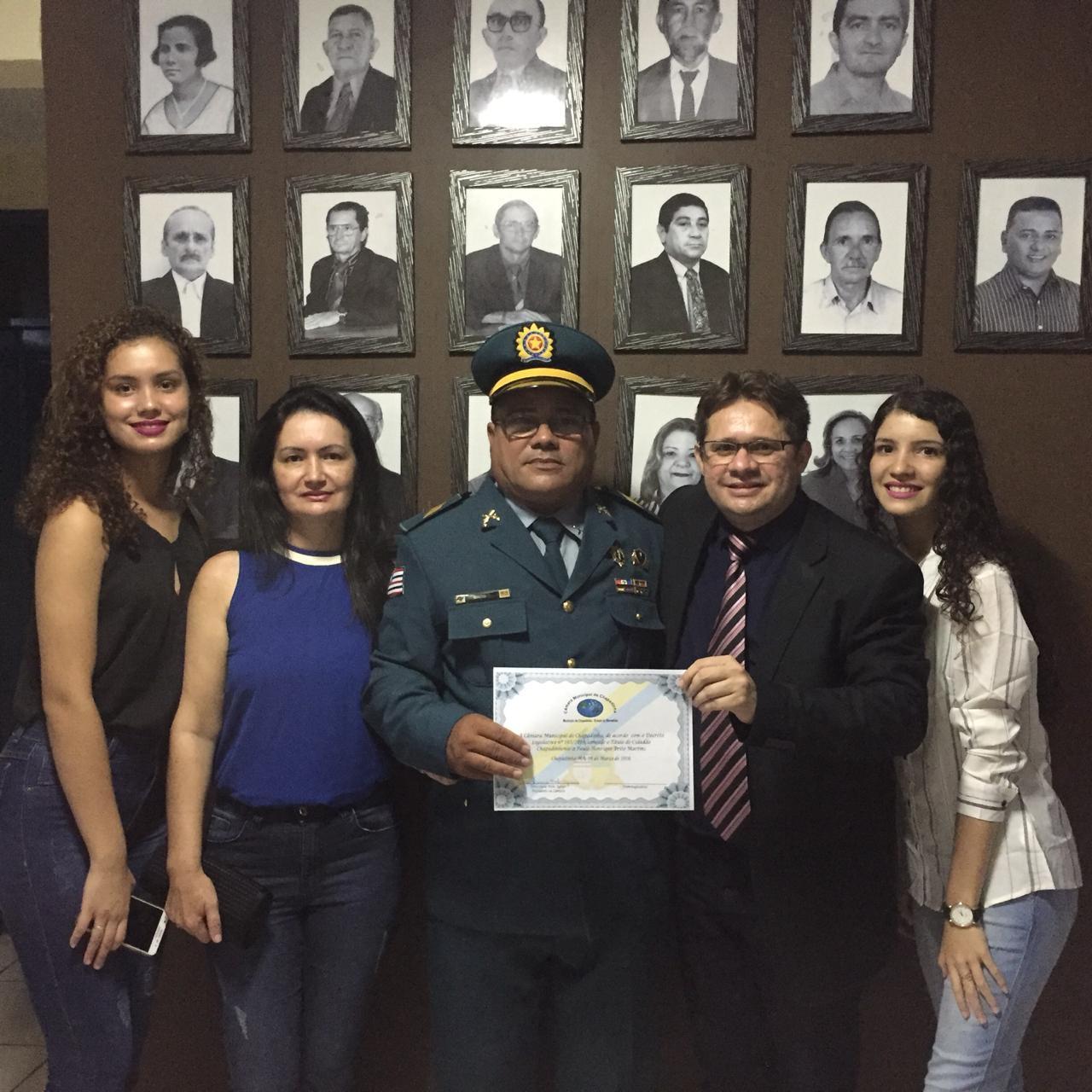 Vereador Júnior Carneiro participa das comemorações do aniversário de Chapadinha