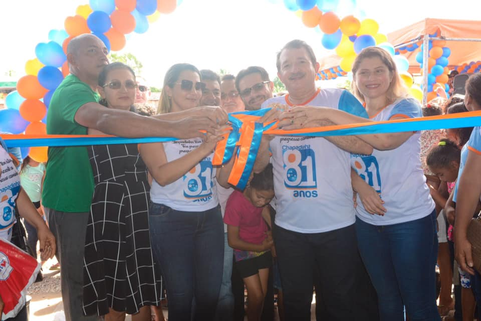 Na abertura das comemorações de 81 anos, Chapadinha conquista investimentos na educação, saúde e limpeza pública
