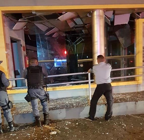 Bandidos estouram mais uma agência do BB em São Luís