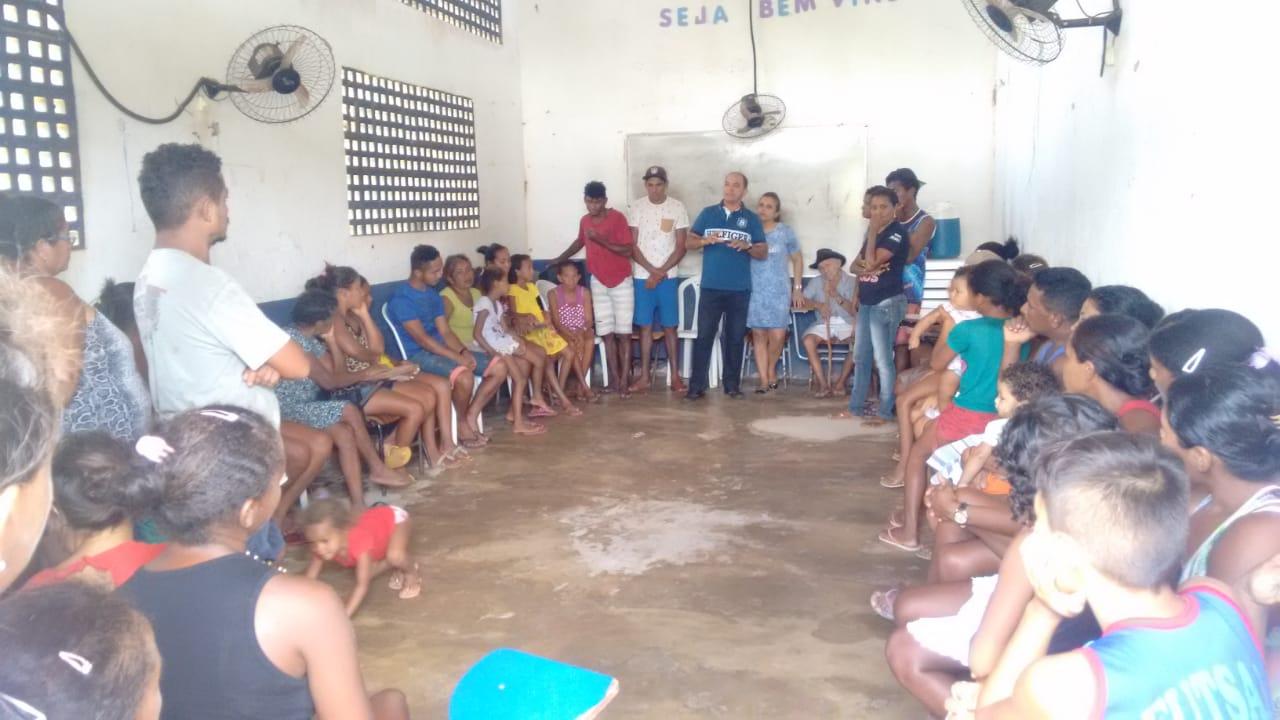 Ação Social beneficia comunidade rural em Duque Bacelar
