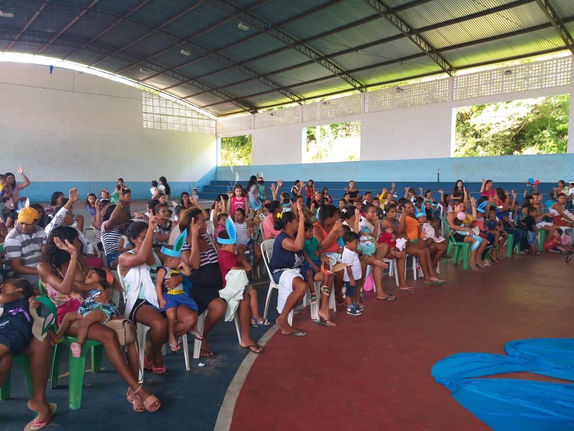 Crianças de Duque Bacelar tem programação de páscoa promovida pela Prefeitura