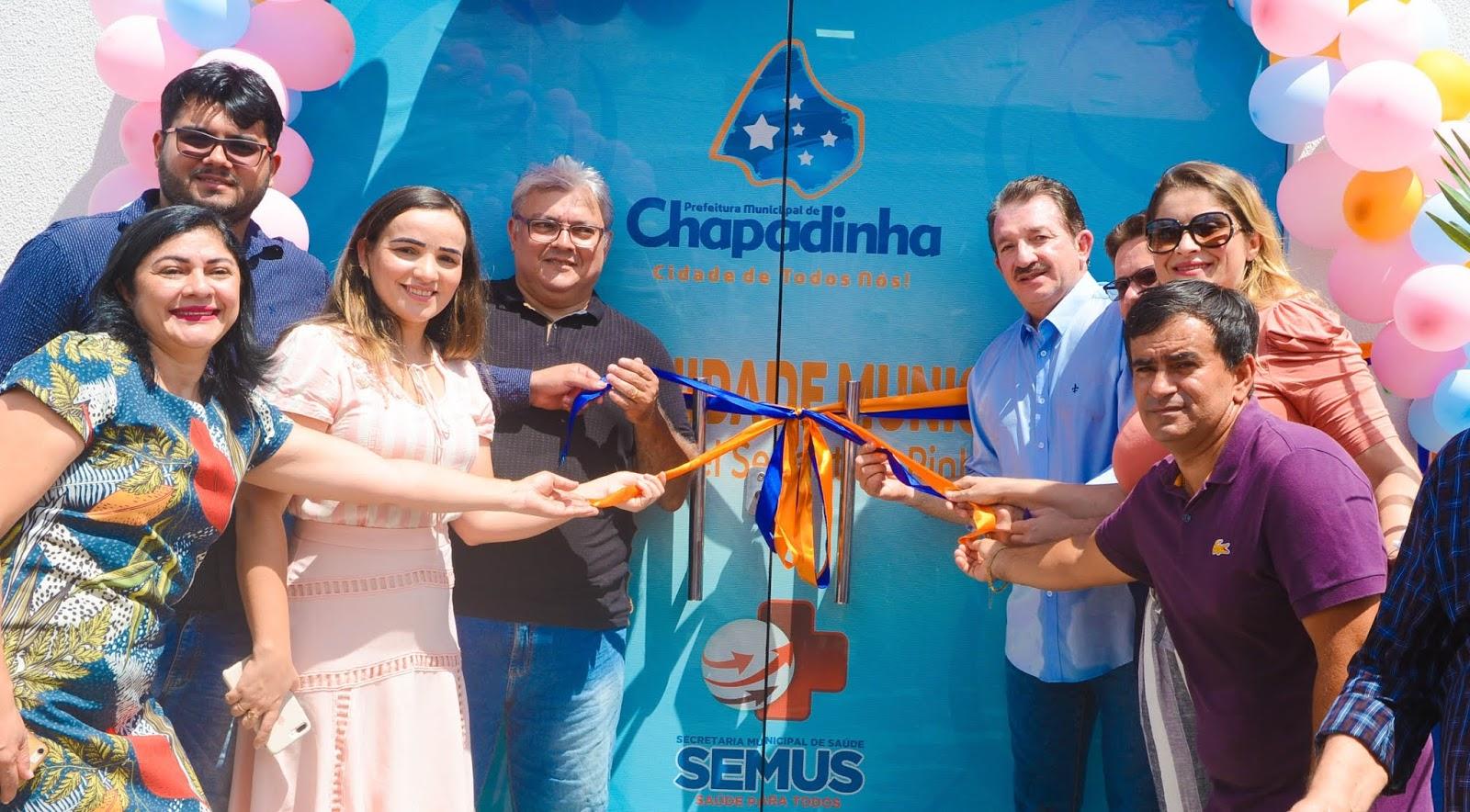 Em clima de festa, prefeito Magno Bacelar entregou nova Maternidade Municipal