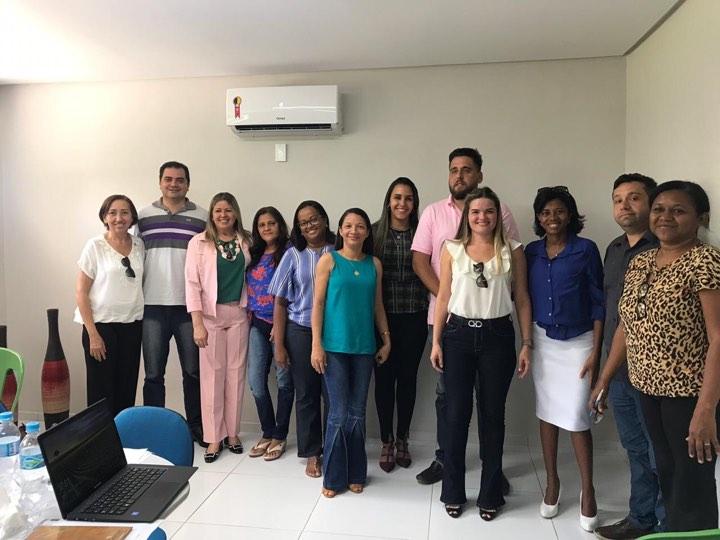 Secretária de Saúde de Duque Bacelar participa de reunião da CIR-Caxias